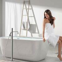 Mitigeur baignoire-douche sur pied Or mat - TRES 26247002OM