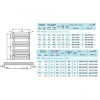 Sèche-serviette ACOVA - REGATE Mixte 583W/600W - ASX-126-050
