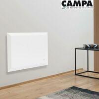 Radiateur électrique CAMPA REVERSO 3.0 Horizontal Blanc 1500W REVD15HBCCB