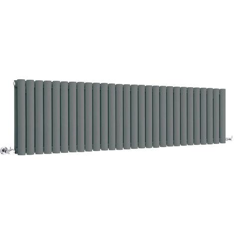 Radiateur Design Horizontal Blanc 63,5 x 164,7cm Hudson Reed Vitality