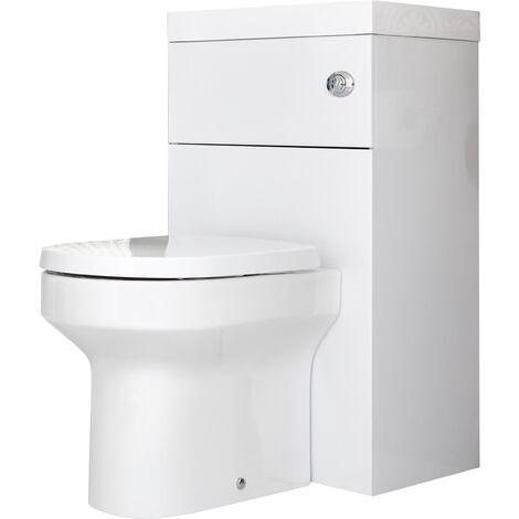 Hudson Reed - WC avec Lave Main - Design Moderne