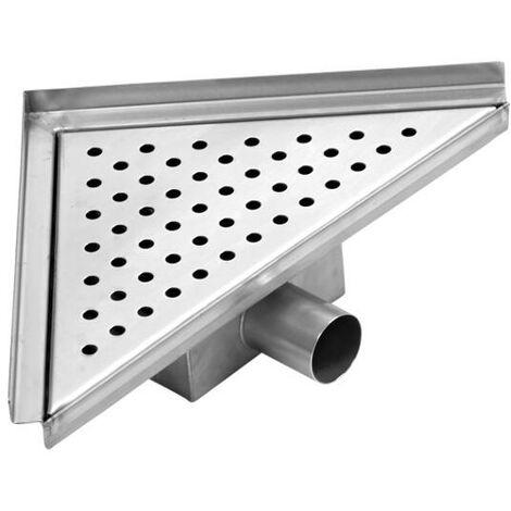 Caniveau de douche carré 25cm