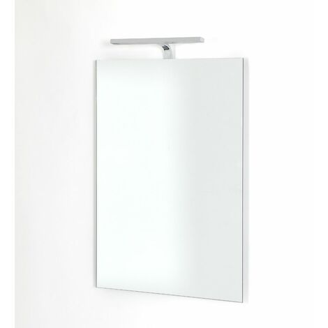 Hudson Reed - Miroir Lumineux 50 x 70 x 15CM - Design Biwa