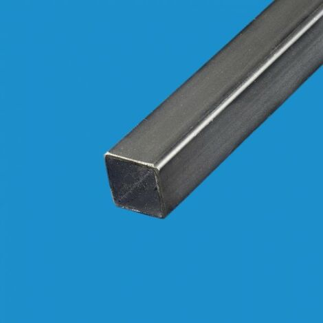 Tube carre acier noir 90 x 90 mm Epaisseur en mm - 3 mm, Longueur en metre - 1 metre, Sections en mm - 90 x 90 mm