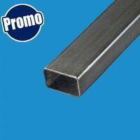 Tube rectangulaire acier 100x50 Epaisseur en mm - 2 mm, Longueur en metre - 1 metre, Sections en mm - 100 x 50 mm