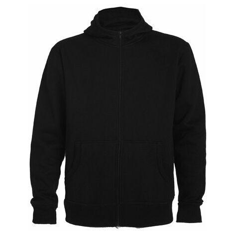 Sudadera con capucha, cuello alto MONTBLANC CQ6421 | Negro - 5/6 Años