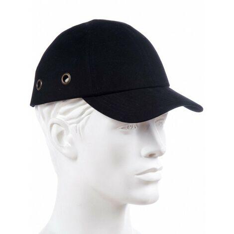 Gorra antigolpes / rasguños BC07 - EN 812 - A1 | Negro