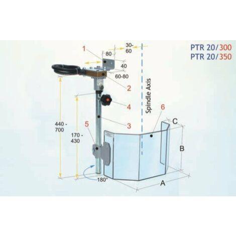 Protector para taladro radial   PTR 20/300