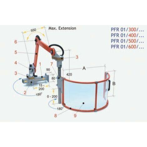 Regulable para fresadora universal | PFR 01/500