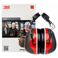 Orejeras para casco con anclaje P3E 32db Hi-Vi 3M PELTOR X4P3