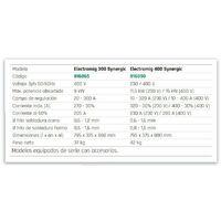 Soldadora inverter, multiproceso Electromig 300 - 400 Synergic   Electromig 300 Synergic