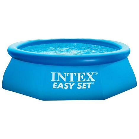 "Intex Easy Set Pool Blue 8 Ft x 24"" Swimming Pool"