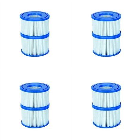 Filter Cartridge VI for Lay-Z-Spa Miami, Vegas, Monaco 4x Twin Pack