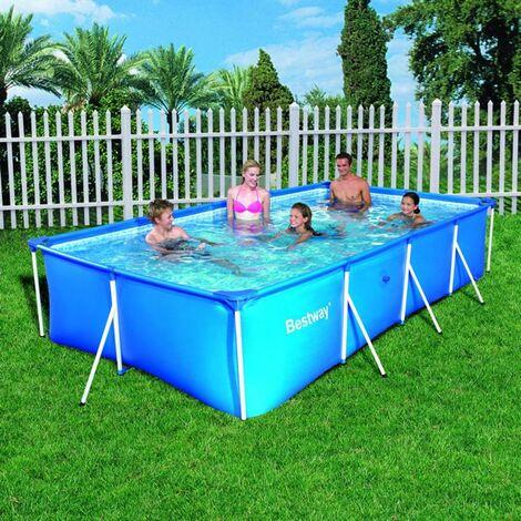 """Bestway Family Splash Frame Pool -157""""x83""""x32"""" - 56405"""