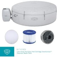 Lay-Z-Spa Vegas Hot Tub Inflatable Spa with Freeze Shield Technology