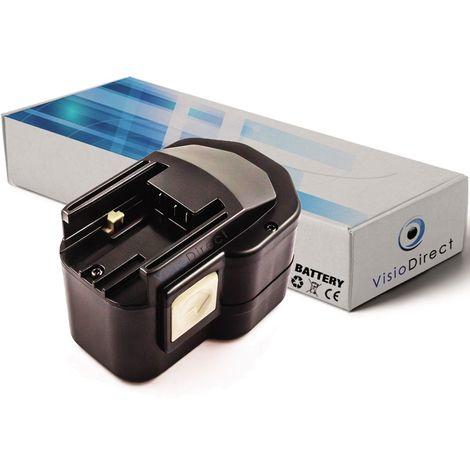 Batterie pour AEG BEST12X perceuse visseuse 12V 2000mAh - Visiodirect -