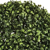 Boule de buis artificielle coloris vert en Polyéthylène - Dim : 40 cm