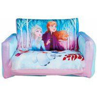 Canapé convertible /canapé-lit gonflable pour enfants Reine des Neiges - L.105 x P.68 x .H26 cm -PEGANE-