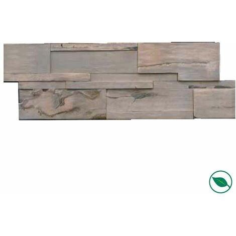 Plaquette de parement mural barnwall Vérone 1200 x 120/150 x 9 mm paquet de 0,85 m².