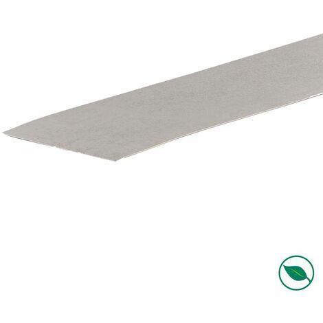 Bande de chant rénovation d'escalier stratifié light grey 60 x 400 mm .
