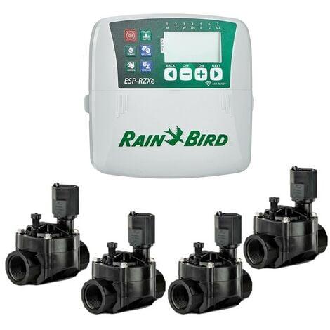 Programmeurs d'irrigation ESP-RZXE4 Int + 4 Elec. 100HV Rain Bird