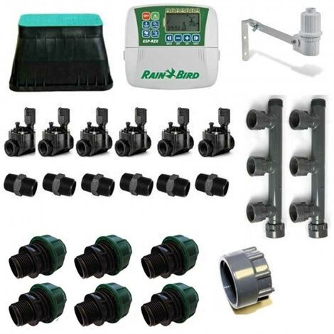 Rain Bird Irrigation zone Kit 6 Interieur