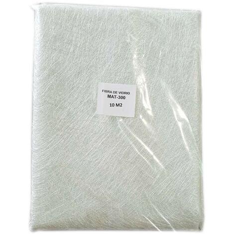 Fibre de verre MAT-300 (densité 300g / m2) 10m2 pour les réparations