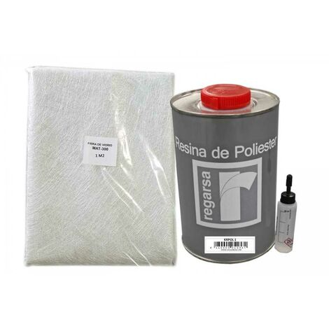 Kit de reparation Resine polyester 1 kg