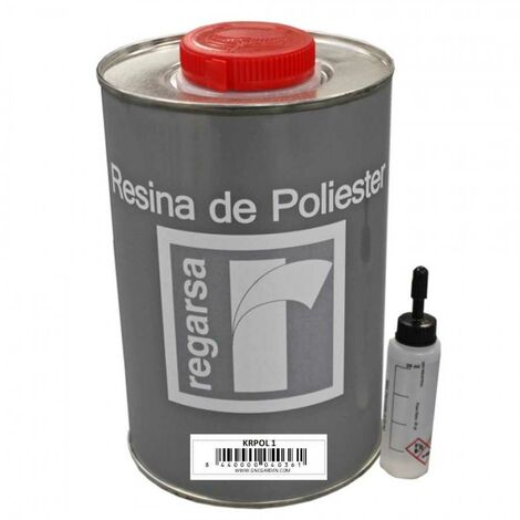 Pack 5 kg de resine polyester + catalyseur 100grs