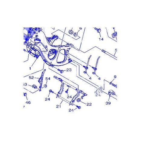 Yamaha 59C-2142K-00 Soporte del marco del radiador - T-Max 530 12-13