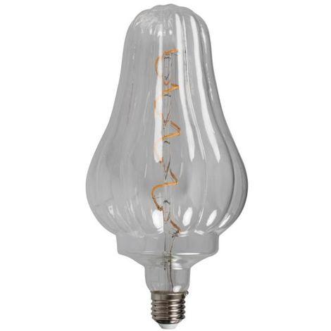 Opjet 011697 bombilla LED E27 4W H25cm - retro Paul Edison - filamento en espiral