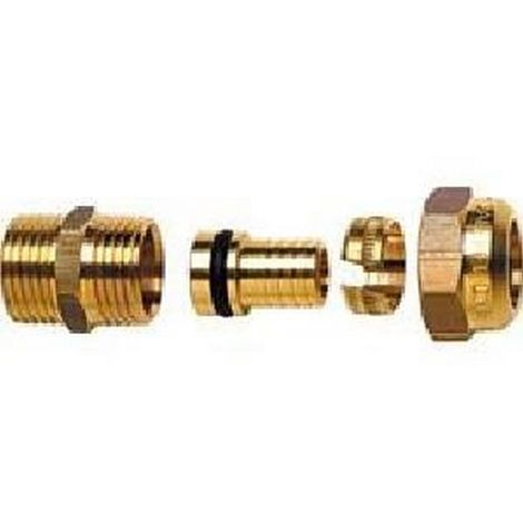 Caleffi 840 302 TH - Acoplador C + tubo de pl