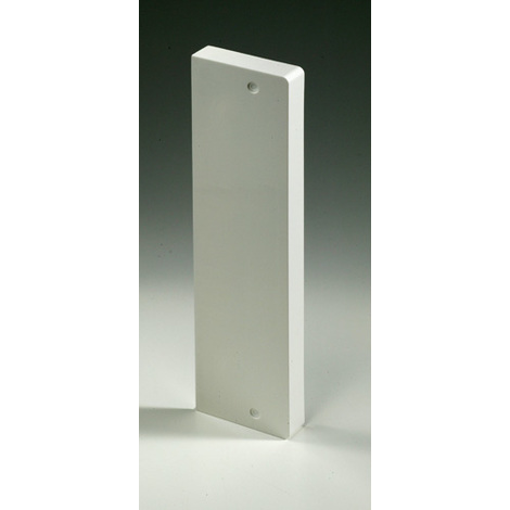 Embout Goulotte GTL Blanc Pour Tableau Modulaire Iboco