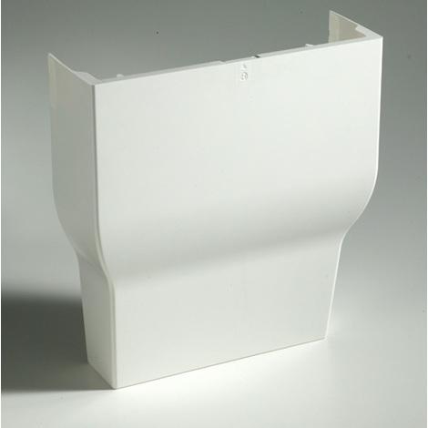 Cornet d'épanouissement Haut Goulotte GTL Blanc Pour Tableau Modulaire Iboco