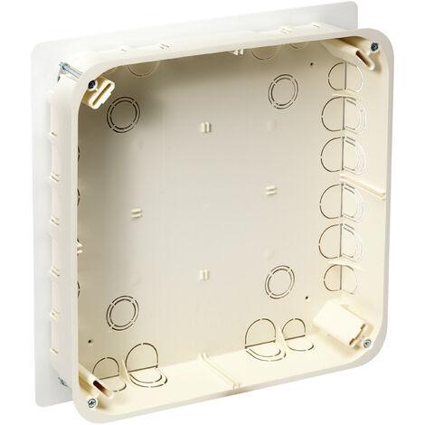 Boite Pavillonnaire Bbc Pour Derivation Dans Comble 200x200x85mm 48 Entrees O 16 32mm Etanche Normes Rt2012 Sib Adr P32525