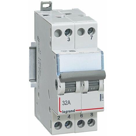 Interrupteur-inverseur - double va et vient 400 V~ - 2 modules