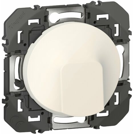 Sortie de câble standard Dooxie Blanc ou Alu / Legrand   Couleur: Blanc