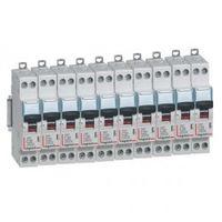Lot de 10 disjoncteurs 10A à vis / Legrand