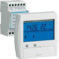 GESTIONNAIRE D ENERGIE HAGER CONFORT 2 ZONES 7Jours
