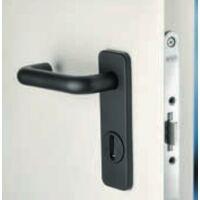 Porte Métallique Industrielle De Service L1100xH2050