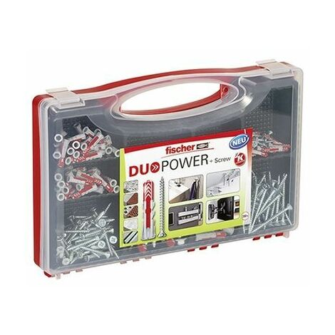 12 und 14 mm in Box blau 6 Fischer Duo Power Dübel 5 Sortimentskasten 8 10