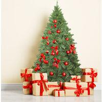 "Sapin de Noël ""Chiavenna"", Hauteur 120 cm, Extra épais, 431 branches, Effet Royal, 90 x 90 x 120 cm"