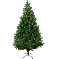 """Sapin de Noël """"Led"""", Hauteur 180 cm, 723 branches, Avec lumières LED incluses, 110 x 110 x 180 cm"""