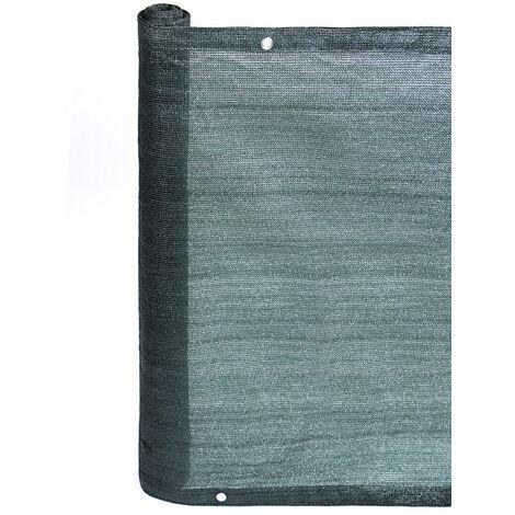 MALLA OCULTACIÓN BALCONY EASY VERDE 160 G/M2 Verde 1 X 25M