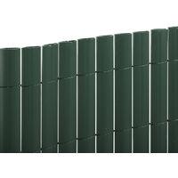 CAÑIZO PVC DOBLE CARA ELEGANCE 30MM VERDE Verde 1 X 3M