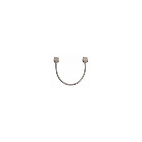 Gaine inox renforcée 50 cm diamètre 13/10 mm avec chapeaux carrés - SEWOSY - - DLRI10EC.