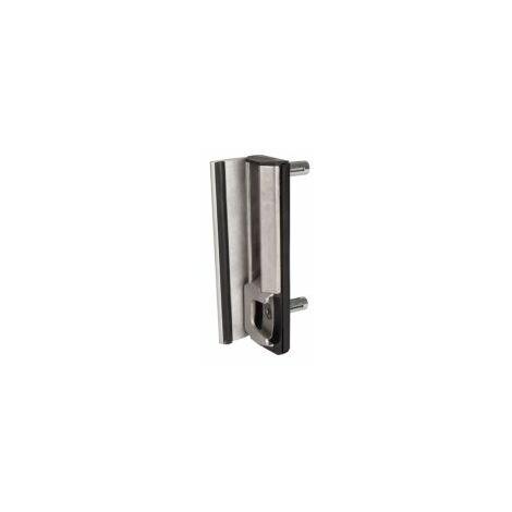 Gâche de sécurité de type industriel, système d'ancrage acier inoxydable, grise, profil carré 40-60 mm. - SHKLQF.