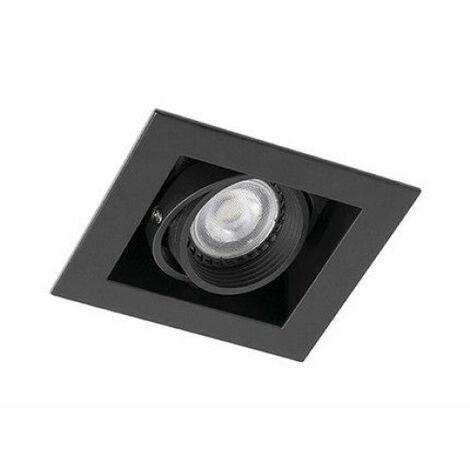 FALCON-1 Empotrable orientable negro - NEGRO MATE