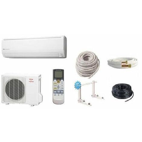 Pack climatisation ATLANTIC ASYG 9 LLCE 2.5 KW + Kit de pose 7 mètres + support + MISE EN SERVICE INCLUSE