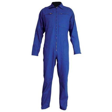 BENOIT Combinaison de travail 100 % COTON SANFOR Bleu bugatti - T. 5 - Vpb
